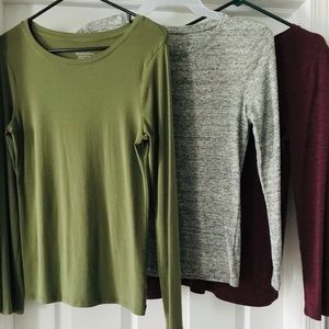 Bundle of Ultimate Long Sleeve Tops